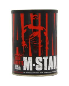 Universal Nutrition Animal M-Stak Non-Hormonal All Natural Anabolic Gainer Supplement - 21 Count