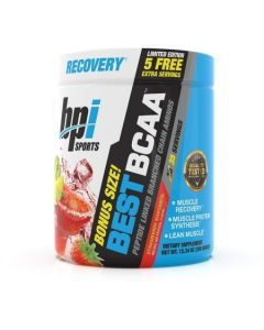 BPI Sports Best BCAA Powder - Muscle Recovery - Muscle Protein Synthesis - Lean Muscle - Improved Performance – Hydration – 30 Servings