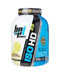 BPI Sports ISO HD Whey Protein Isolate