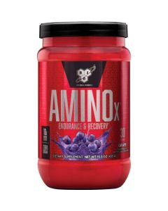 BSN Amino X Muscle Recovery & Endurance Powder with BCAAs, 10 Grams of Amino Acids, Keto Friendly, Caffeine Free, 30 Servings