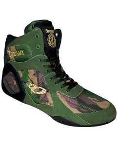 Otomix Ninja Warrior Bodybuilding Lifting Wrestling MMA Shoe - Green Camo