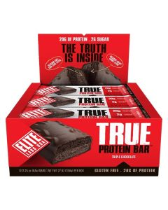 Elite Labs True Protein Bar 64G - Pack of 12