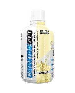 EVLution Nutrition, Carnitine500 16oz Vanilla