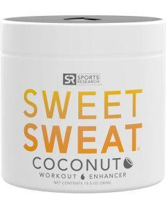Sweet Sweat Coconut 'Workout Enhancer' Gel - Made with Extra Virgin Organic Coconut Oil - 13.5oz Jar