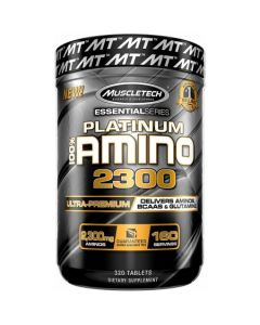 MuscleTech Platinum Amino 2300 Essential Series - 320 Tablets