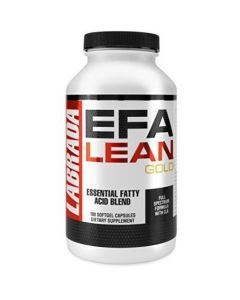 Labrada EFA Lean Gold Essential Fatty Acid Soft Gel Capsules -180-Count