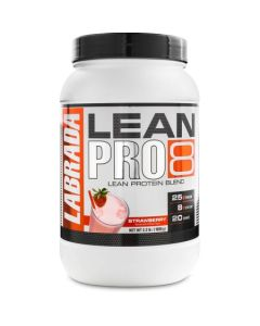 Labrada Lean Pro 8, Super Premium Protein Powder with Whey Isolate & Casein for All-Day Lean Muscle Support
