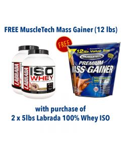 Crazy Deal - Labrada ISO Whey + MuscleTech Mass Gainer