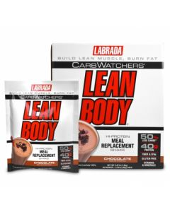 Labrada  Carb Watchers Lean Body Meal Replacement Shake  20 Packets