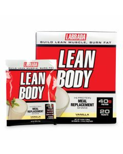 Labrada Leanbody Meal Replacement 20 packets
