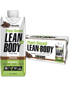 Labrada Lean Body Ready to Drink Plant Based Protein Shake - 12 Pack