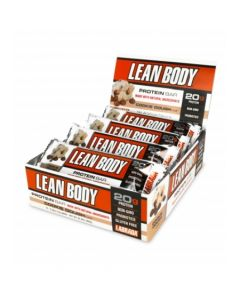 Labrada Nutrition – Lean Body Protein Bars with Probiotics, Non-GMO, Gluten Free All-Natural Protein bar Made with Natural Ingredients, 12 Bars