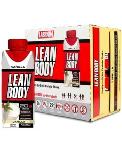Labrada Lean Body Ready To Drink Protein Shake - 20gm (RTD for Everybody)