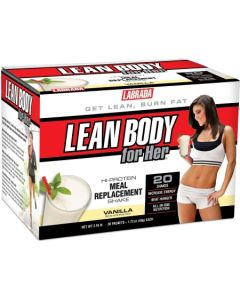 Labrada Lean Body for Her Hi-Protein Meal Replacement Shake - 20 Packets (1.73oz/49gm each)