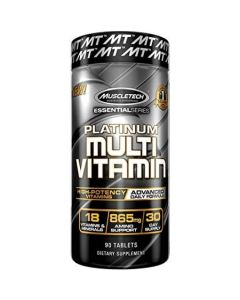MuscleTech Essential Series Platinum Multi Vitamin - 90 Tablets