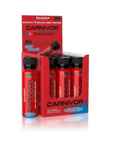 MuscleMeds Carnivor Liquid Protein Shot 12 Pack