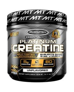 MuscleTech Platinum 100% Creatine - 400 g