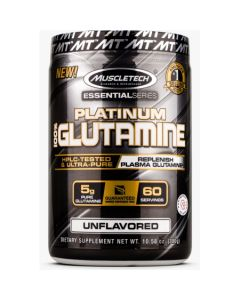 MuscleTech Essential Series Platinum 100% Glutamine - 300 g