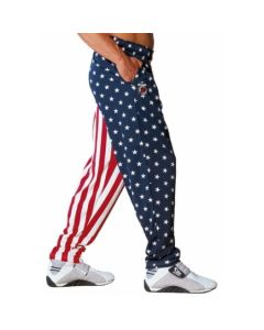 Otomix Bodybuilding Baggy Gym Pant - American Flag-L