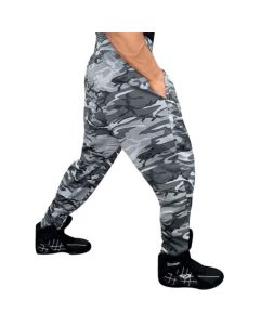 Otomix Bodybuilding Baggy Gym Pant - Grey Camouflage