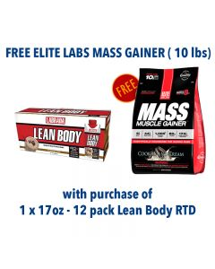 Crazy Deal - Labrada RTD + Elite Labs Massive Mass Gainer
