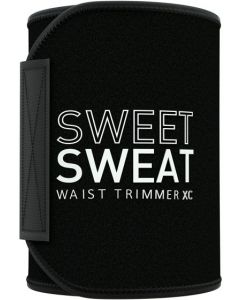 Sweet Sweat Waist Trimmer 'Xtra-Coverage' for Men & Women | Premium Waist Trainer Sauna Suit with More Torso Coverage for a Better Sweat! -Medium