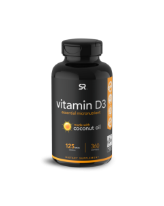 Sports Research Vegan Vitamin D3 5000iu