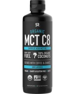 Sports Research, Keto C8, Caprylic Acid MCT, Unflavored, 16 fl oz (473 ml)
