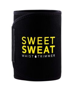 Sports Research Sweet Sweat Premium Waist Trimmer for Men & Women Includes Free Sample of Sweet Sweat Gel and Mesh Bag